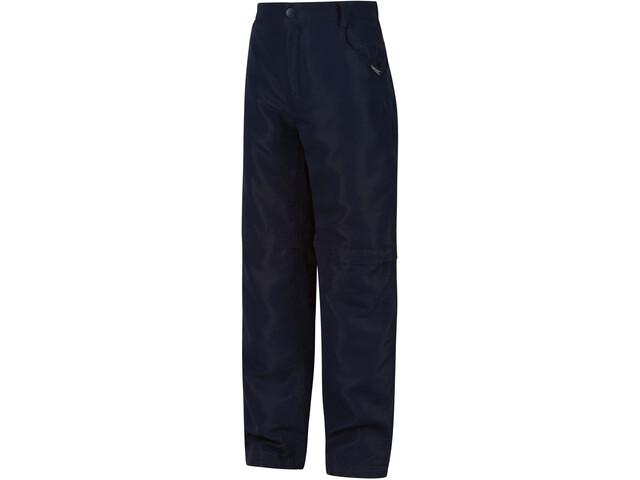 Regatta Sorcer II Pantalon convertible avec fermeture éclair Enfant, navy